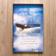 Journal - On Eagles' Wings Flexcover Journal