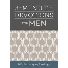 Three Minute Devotions for Men - Barbour Books