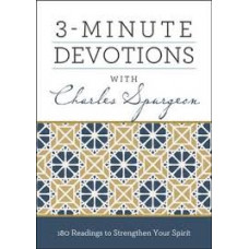 Three Minute Devotions With Charles Spurgean - Barbour Books