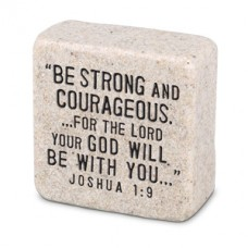 Strength Scripture Stone