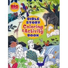 Bible Story Colouring and Activity Book - B&H Kids Editorial Staff