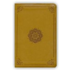 ESV Compact Outreach Bible Premium Edition - TruTone Goldenrod, Emblem