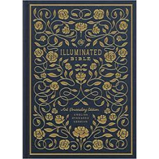 ESV Illuminated Bible - Art Journaling Edition - Navy Cloth Over Board