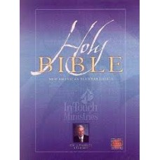 New American Standard Bible - In Touch Ministries Wide Margin Hard Cover