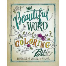 NIV Beautiful Word Colouring Bible - Hundreds of Verses to Colour - Hard Cover