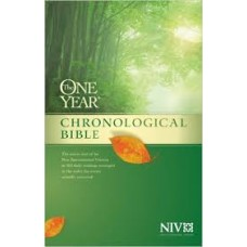The One Year Chronological Bible NIV - Hard Cover