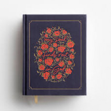 NIV Journal the Word Bible for Women - Navy Cloth Over Board