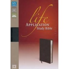 NIV Life Application Study Bible - Black Bonded Leather