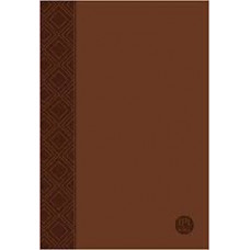 The Passion Translation New Testament with Psalms Proverbs and Song of Songs - Brown Faux Leather - Brian Simmons - 2nd Edition