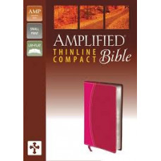 Amplified Thinline Compact Bible - Magenta/Razzleberry