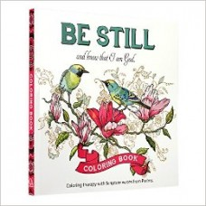 Be Still and Know That I Am God - Coloring Book