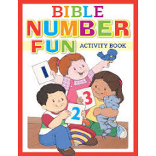 Bible Number Fun Activity Book - Kim Mitzo Thompson, Karen Mitzo Hilderbrand