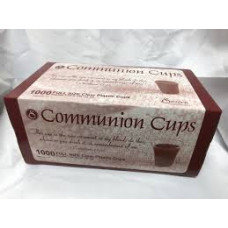 Communion Cups - Box of 1000 Clear Plastic cups