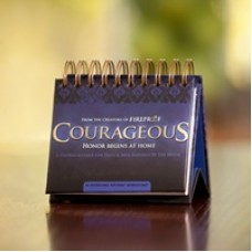 Courageous - Honor Begins at Home - Perpetual Calendar - Dayspring