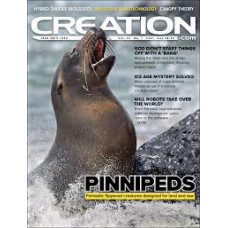 Creation Magazine Vol 43 #1   2021