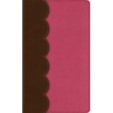 ESV  Kid's Thinline Bible - Trutone Chocolate/Bubblegum
