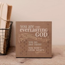 Everlasting God - Wall Art - Lyrics for Life