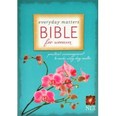 Everyday Matters Bible for Women - NLT - Hardcover