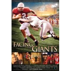 Facing the Giants - Never Give Up, Never Backdown, Never Lose Faith - (DVD)
