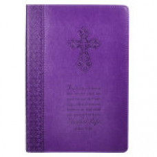 For God So Loved - Journal Purple