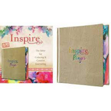 Inspire Prayer NLT Creative Journaling Bible