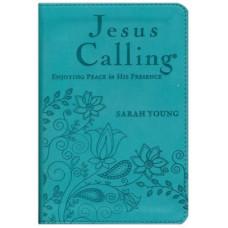 Jesus Calling  Enjoying Peace in His Presence - Sarah Young - Teal