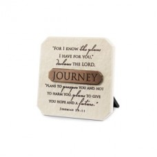 Journey Plaque With Title Bar