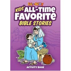 Kid's All Time Favorite Bible Stories - Activity Book - Itty Bitty