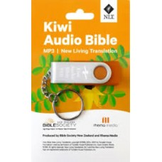 NLT Kiwi Audio Bible - MP3 USB - Bible Society