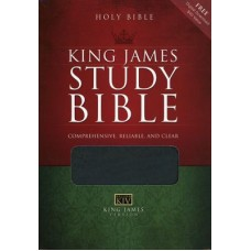 KJV Study Bible - Black Bonded Leather