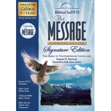 The Message Audio Bible - DVD - Narrated by Kelly Ryan Dolan