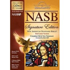 NASB Audio Bible - DVD - Signature Edition - Dick Hill