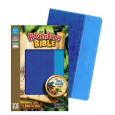 NIV Adventure Bible - Electric Blue / Ocean Blue