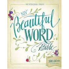 NIV Beautiful Word Bible - 500 Full Colour Illustrated Verses
