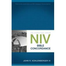 NIV  Bible Concordance - John R Kohlenberger Iii - Paper Back