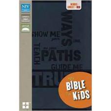 NIV Bible for Kids - Slate Blue - Italian Duo-Tone