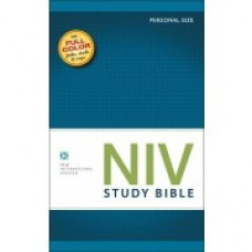 NIV Study Bible (2011 Edition) Personal Size Hard Cover