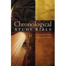 NKJV Chronological Study Bible - Brown / Auburn Leathersoft