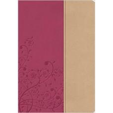 NKJV Woman's Study Bible - Light Cranberry & Tuscany Leathersoft