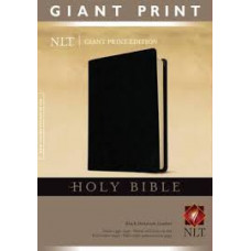 NLT Giant Print - Black Imitation Leather