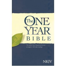 The One Year Bible - NKJV - Paper Back