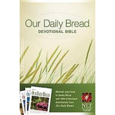 Our Daily Bread Devotional Bible NLT - Paper Back