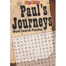 Word Search Puzzles - Paul's Journeys - Itty Bitty