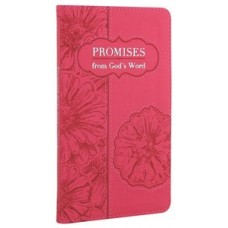 Promises From God's Word - Pink Luxleather - Christian Art Gifts