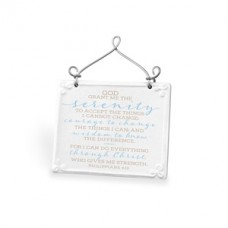Serenity Prayer - Plaque Ceramic/Wire