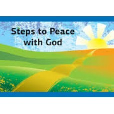 Steps to Peace with God - Pack of 25 Gospel Tracts