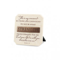 Strength Plaque - with Title Bar