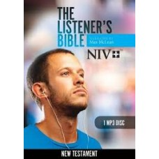 The Listener's Bible NIV New Testament - Max McLean - MP3 Disc