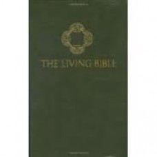 The Living Bible - Paraphrased - Kenneth n Taylor - Green Padded Hard Cover