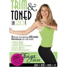 Trim and Toned in Twenty! - Body Mind Spirit Fit - Tonya Larson - DVD